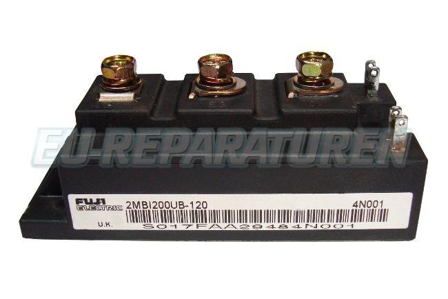Weiter zum Artikel: FUJI ELECTRIC 2MBI200UB-120 IGBT MODULE