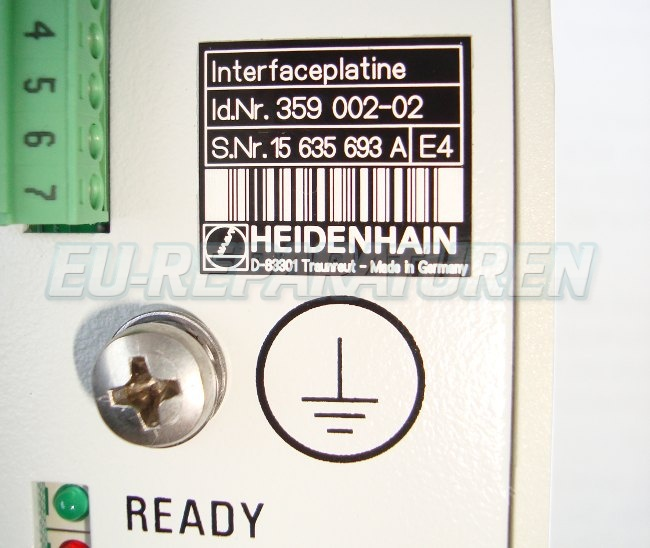 VORSCHAU: HEIDENHAIN 359002-02 BOARD