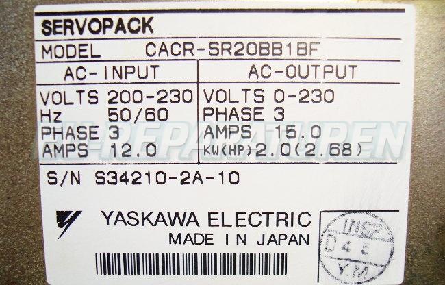 SHOP, Kaufen: YASKAWA CACR-SR20BB1BF FREQUENZUMFORMER