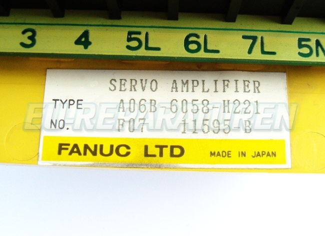 VORSCHAU: FANUC A06B-6058-H221 FREQUENZUMFORMER