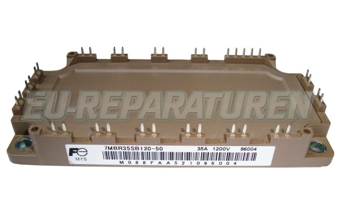 Weiter zum Artikel: FUJI ELECTRIC 7MBR35SB120-50 IGBT MODULE