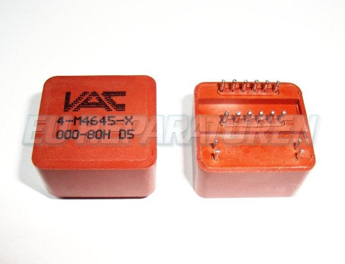 Weiter zum Artikel: SIEMENS 4-M4645-X-000-80H TRANSFORMATOR