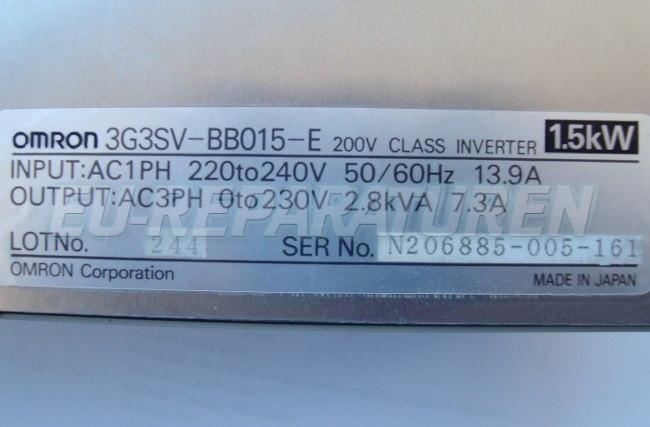 SHOP, Kaufen: OMRON 3G3SV-BB015-E FREQUENZUMFORMER