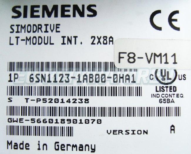 SHOP, Kaufen: SIEMENS 6SN1123-1AB00-0HA FREQUENZUMFORMER
