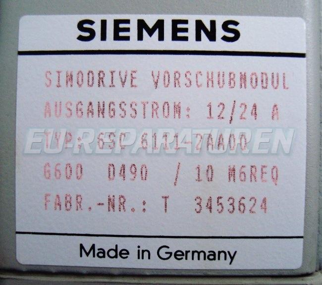 SHOP, Kaufen: SIEMENS 6SC6111-2AA00 FREQUENZUMFORMER