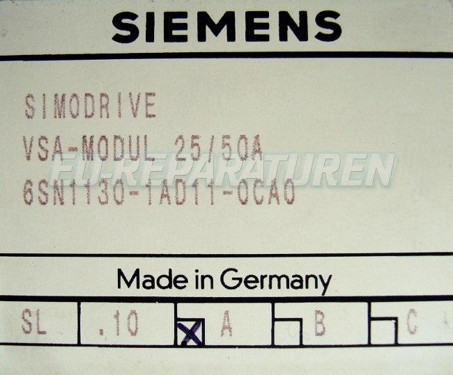 SHOP, Kaufen: SIEMENS 6SN1130-1AD11-0CA FREQUENZUMFORMER