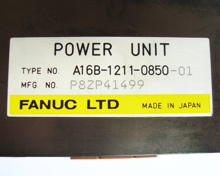 SHOP, Kaufen: FANUC A16B-1211-0850-01 POWER SUPPLY