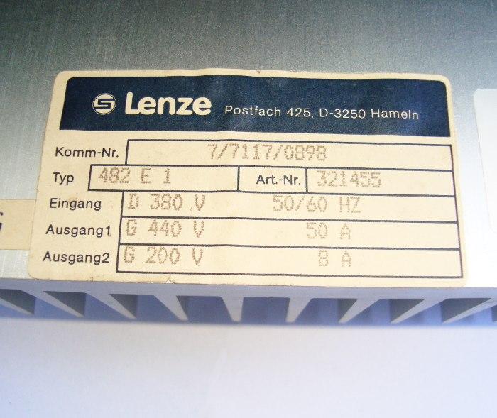 SHOP, Kaufen: LENZE EVD482-E1 DC-DRIVE