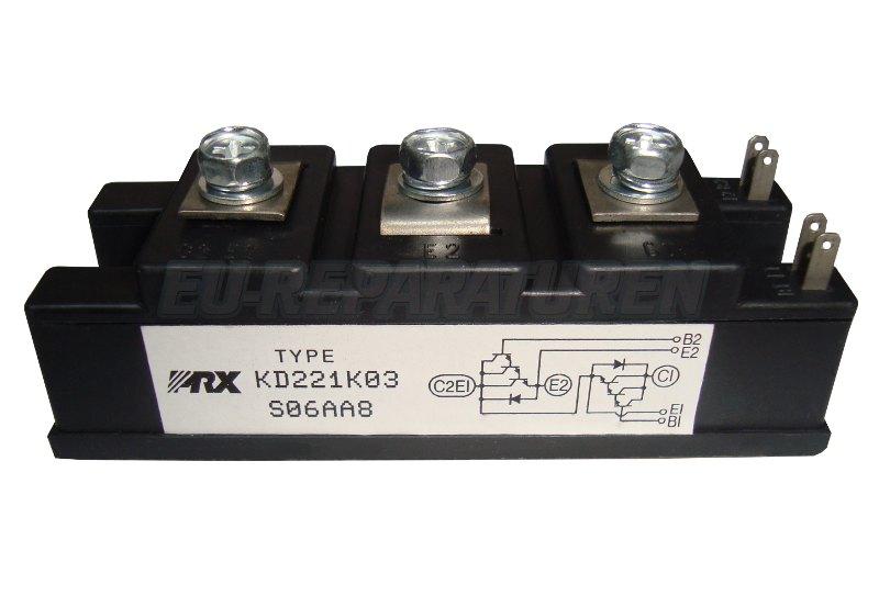 Weiter zum Artikel: POWEREX KD221K03 TRANSISTOR MODULE
