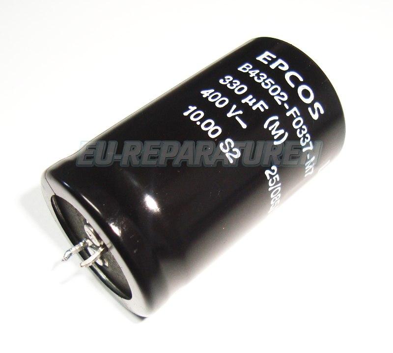 Weiter zum Artikel: EPCOS B43502-F0337-M7 KONDENSATOR