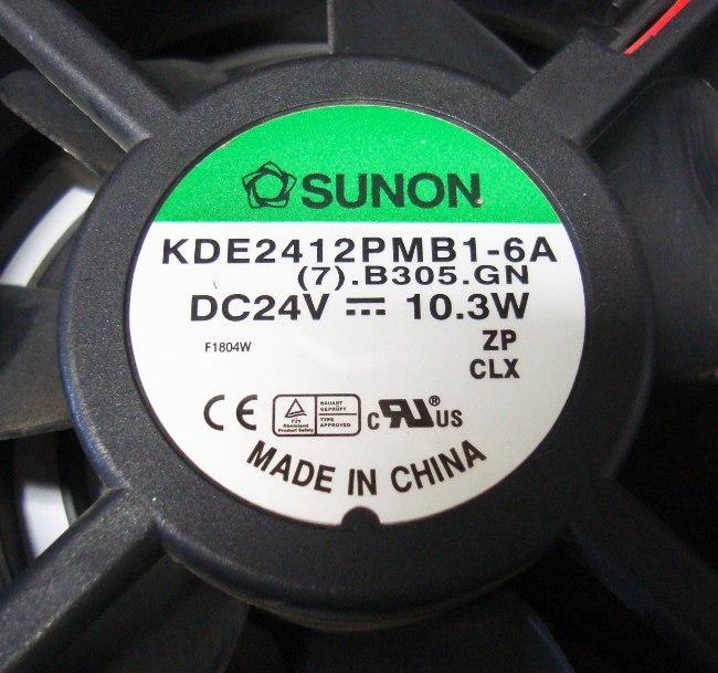 VORSCHAU: SUNON KDE2412PMB1-6A LÜFTER