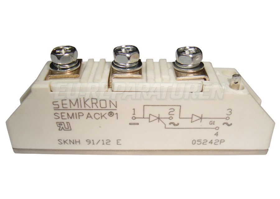 Weiter zum Artikel: SEMIKRON SKNH91/12E THYRISTOR MODULE