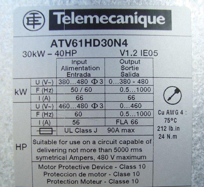 SHOP, Kaufen: TELEMECANIQUE ATV61HD30N4 FREQUENZUMFORMER