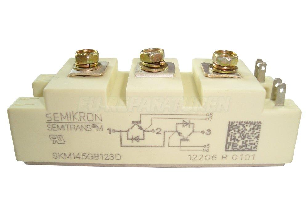 Weiter zum Artikel: SEMIKRON SKM145GB123D IGBT MODULE