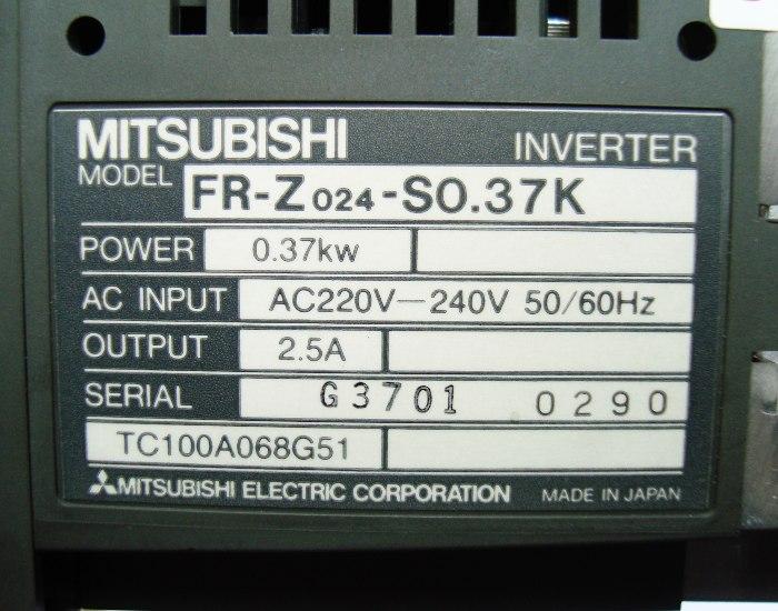SHOP, Kaufen: MITSUBISHI ELECTRIC FR-Z024-S0.37K FREQUENZUMFORMER