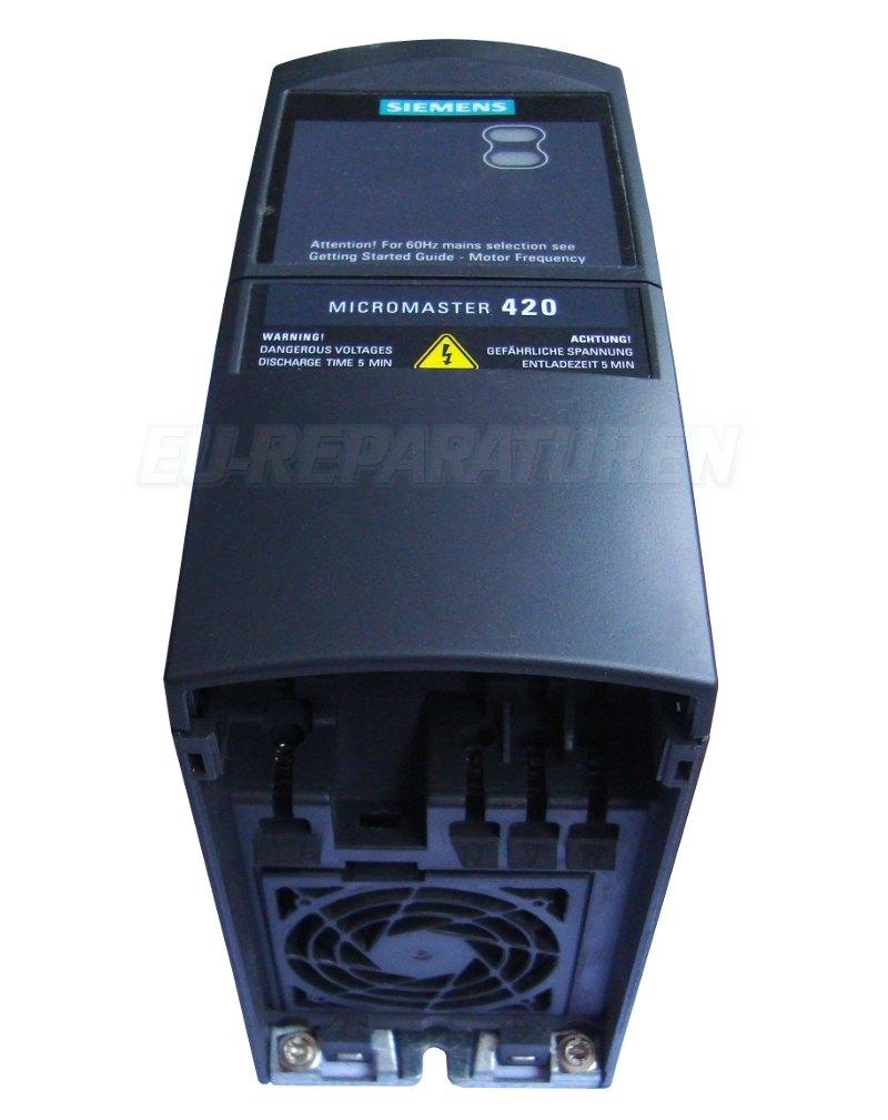 online shop 6se6420 2uc17 5aa1 siemens frequenzumformer micromaster 420 240vac. Black Bedroom Furniture Sets. Home Design Ideas