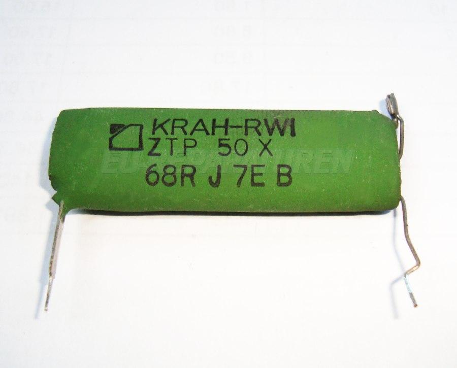 Weiter zum Artikel: KRAH-RWI ZTP50X WIDERSTAND