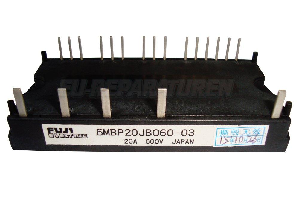 Weiter zum Artikel: FUJI ELECTRIC 6MBP20JB060-03 TRANSISTOR MODULE