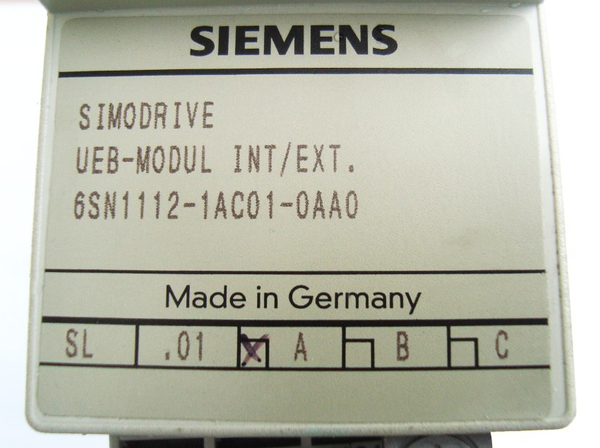 SHOP, Kaufen: SIEMENS 6SN1112-1AC01-0AA POWER SUPPLY