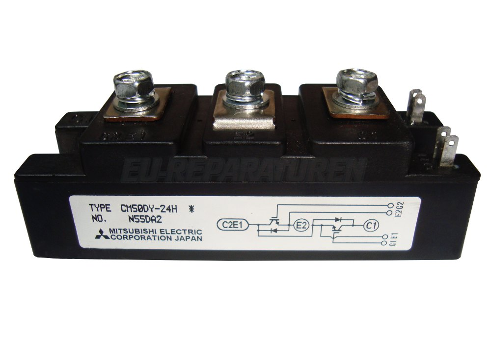 Weiter zum Artikel: MITSUBISHI ELECTRIC CM50DY-24H IGBT MODULE