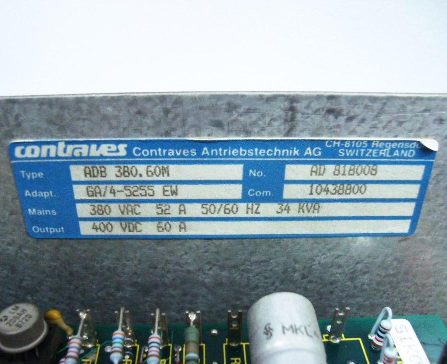 SHOP, Kaufen: CONTRAVES ADB380.60M DC-DRIVE