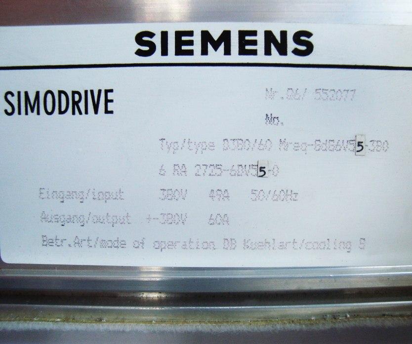 SHOP, Kaufen: SIEMENS 6RA2725-6DV55-0 DC-DRIVE