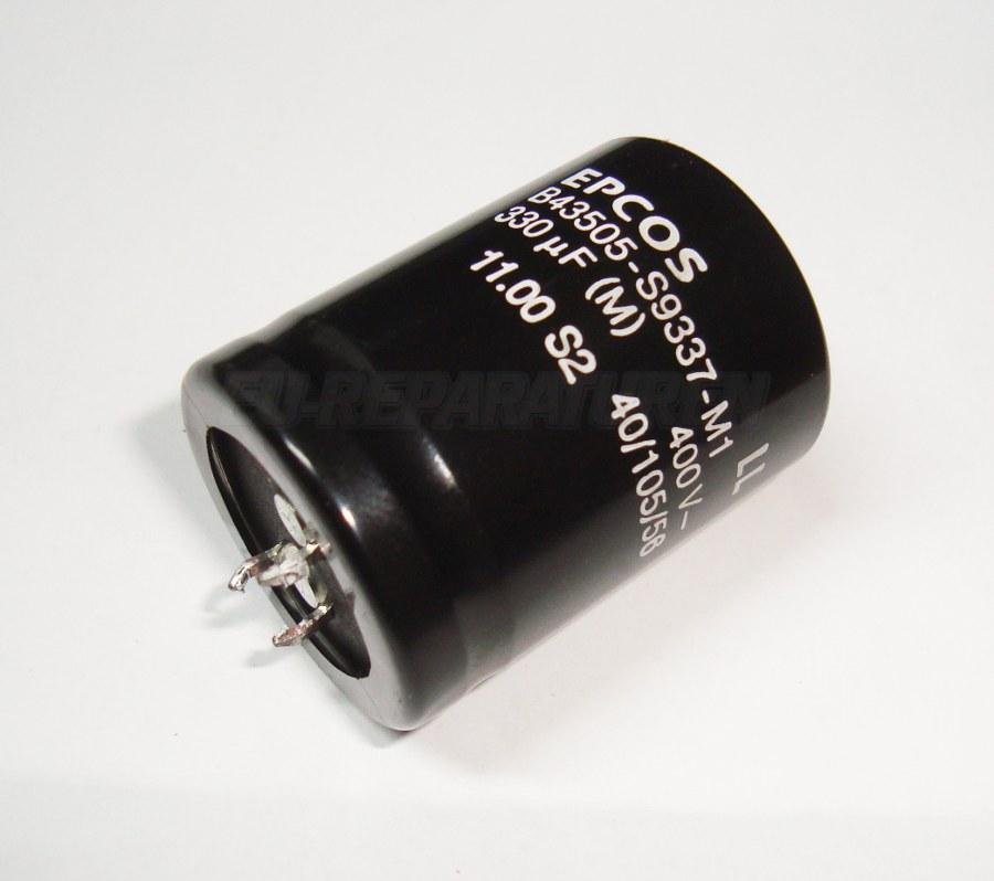 Weiter zum Artikel: EPCOS B43505-S9337-M1 KONDENSATOR