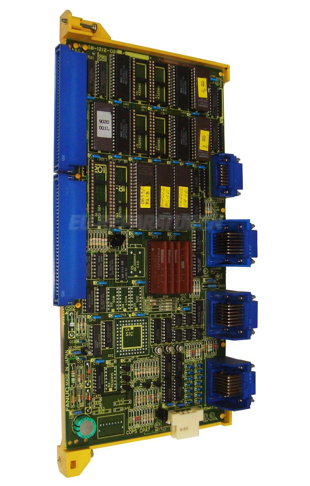 Weiter zum Artikel: FANUC A16B-1212-0210/11C BOARD