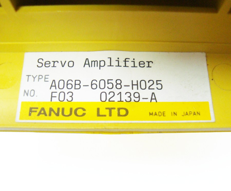 SHOP, Kaufen: FANUC A06B-6058-H025 FREQUENZUMFORMER