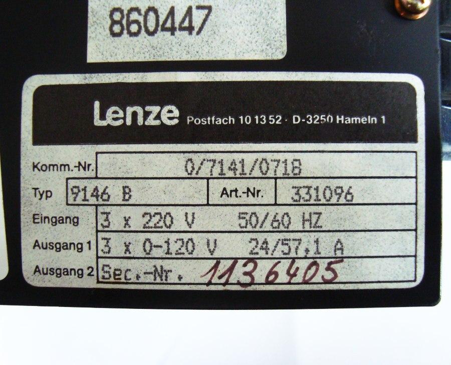 SHOP, Kaufen: LENZE 9146B FREQUENZUMFORMER