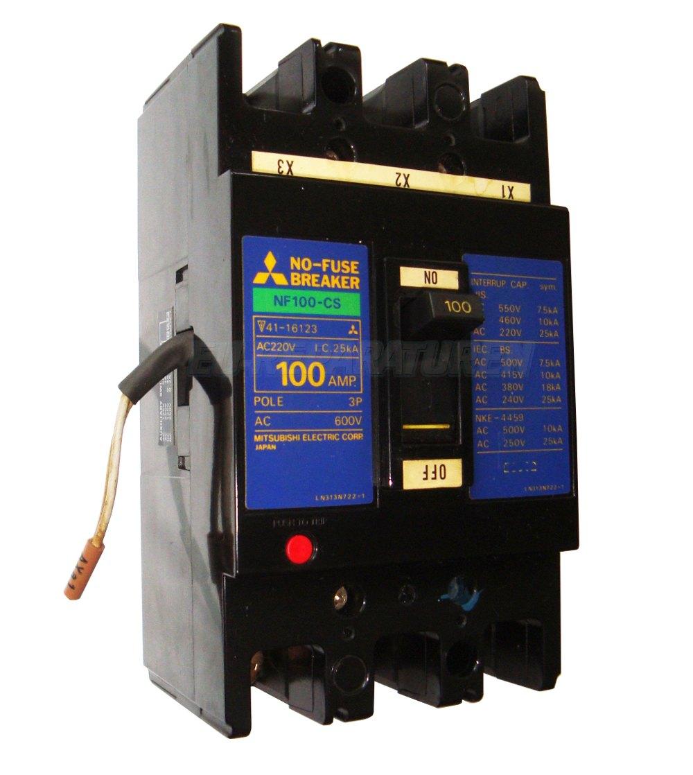VORSCHAU: MITSUBISHI ELECTRIC NF100-CS KONTAKTOR