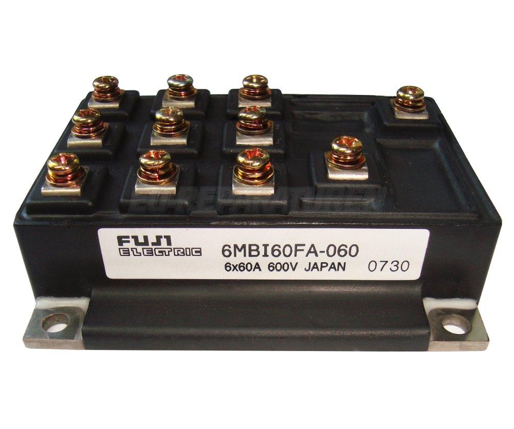 Weiter zum Artikel: FUJI ELECTRIC 6MBI60FA-060 IGBT MODULE