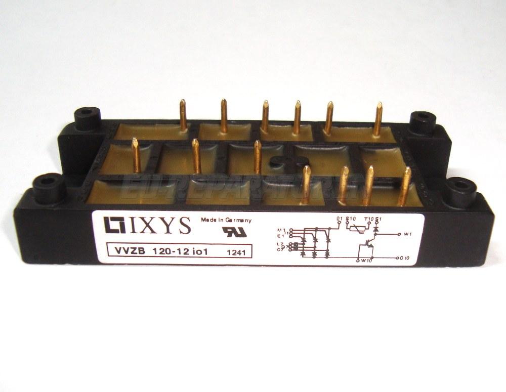 Weiter zum Artikel: IXYS VVZB120-12IO1 THYRISTOR MODULE