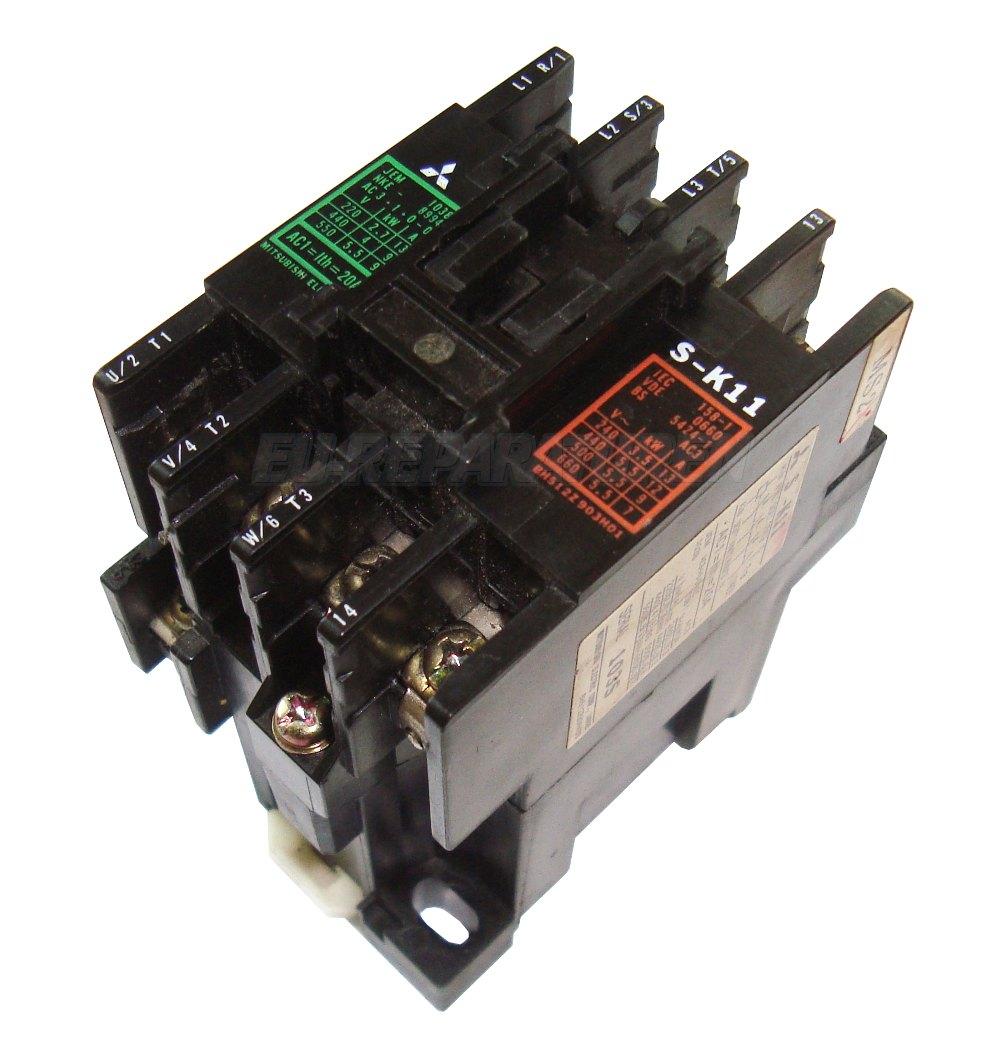 Weiter zum Artikel: MITSUBISHI ELECTRIC S-K11-200 KONTAKTOR