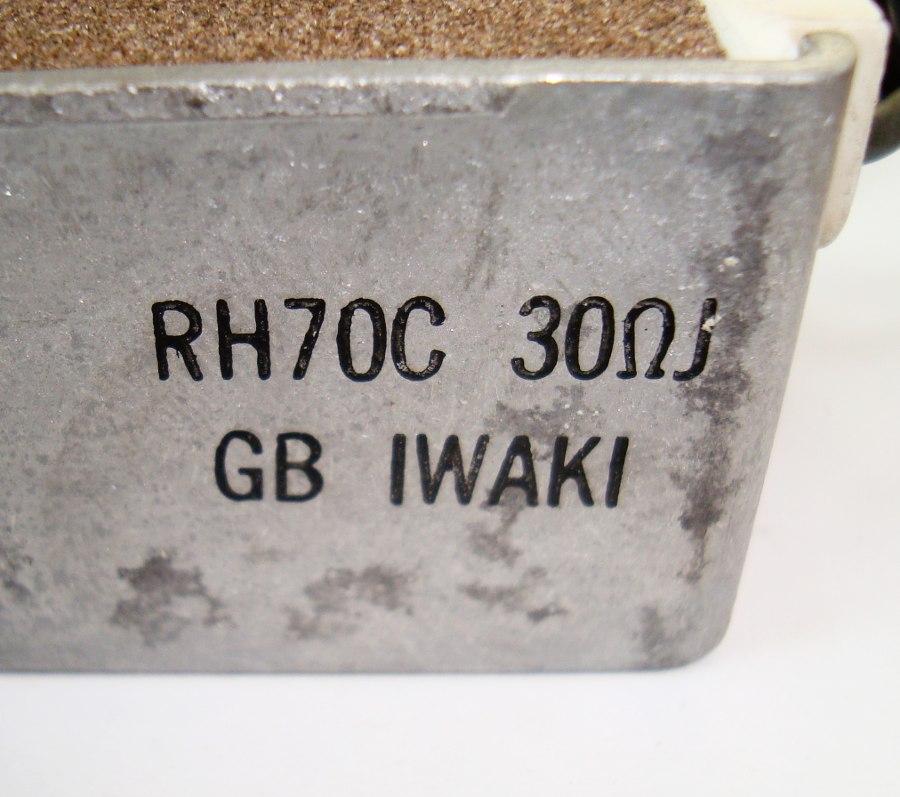 VORSCHAU: IWAKI RH70C WIDERSTAND