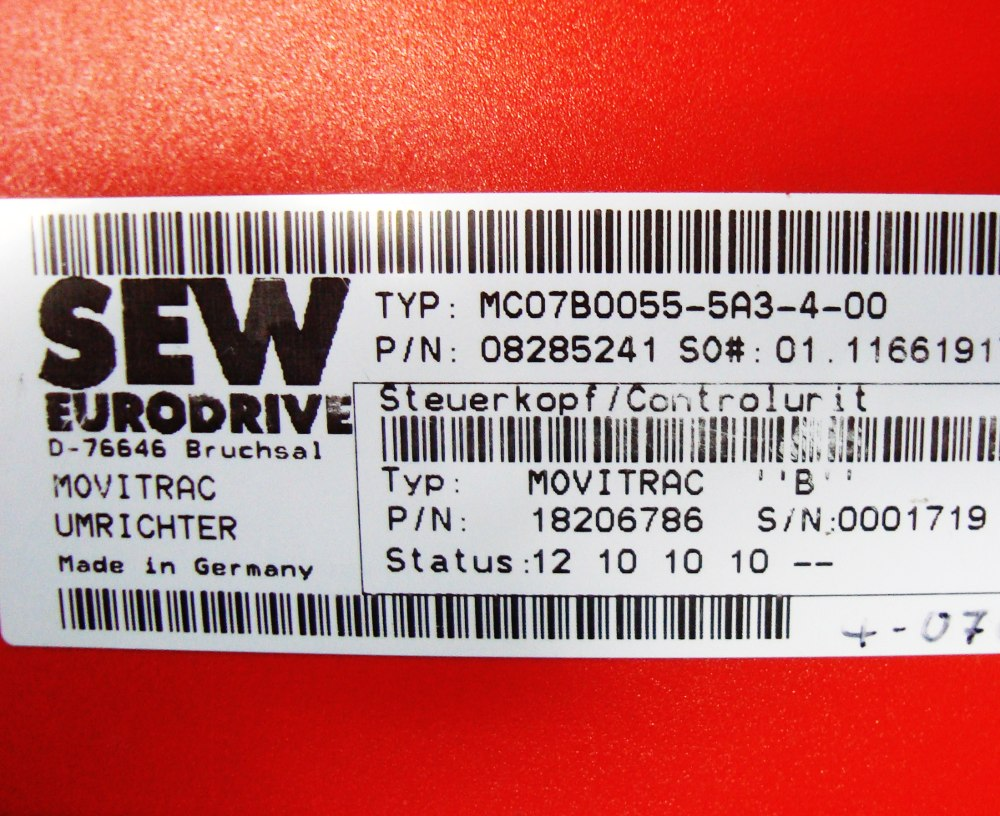 SHOP, Kaufen: SEW EURODRIVE MC07B055-5A3-4-00 BOARD