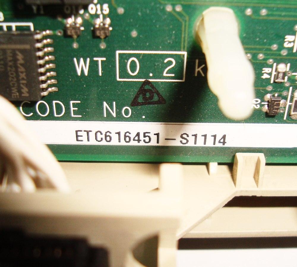 Weiter zum Artikel: OMRON ETC616451-S1114 BOARD