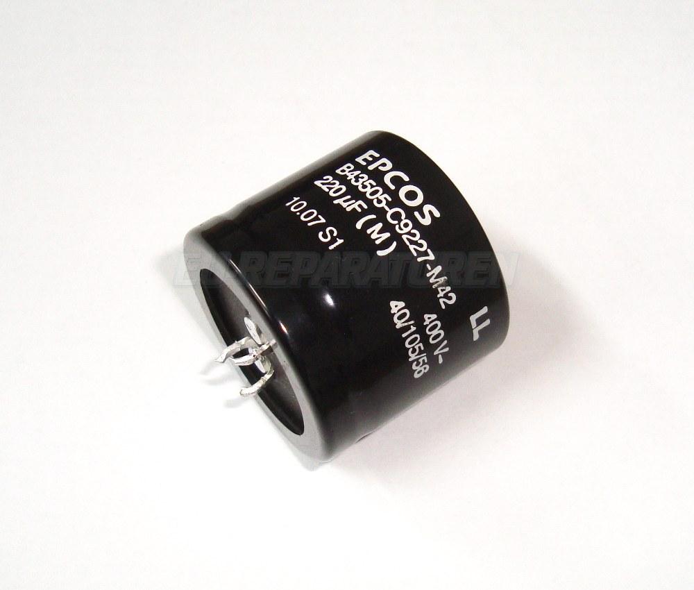 Weiter zum Artikel: EPCOS B43505-C9227-M42 KONDENSATOR