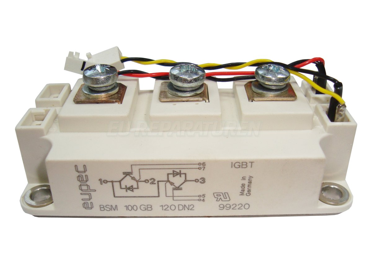 Weiter zum Artikel: EUPEC BSM100GB120DN2 IGBT MODULE