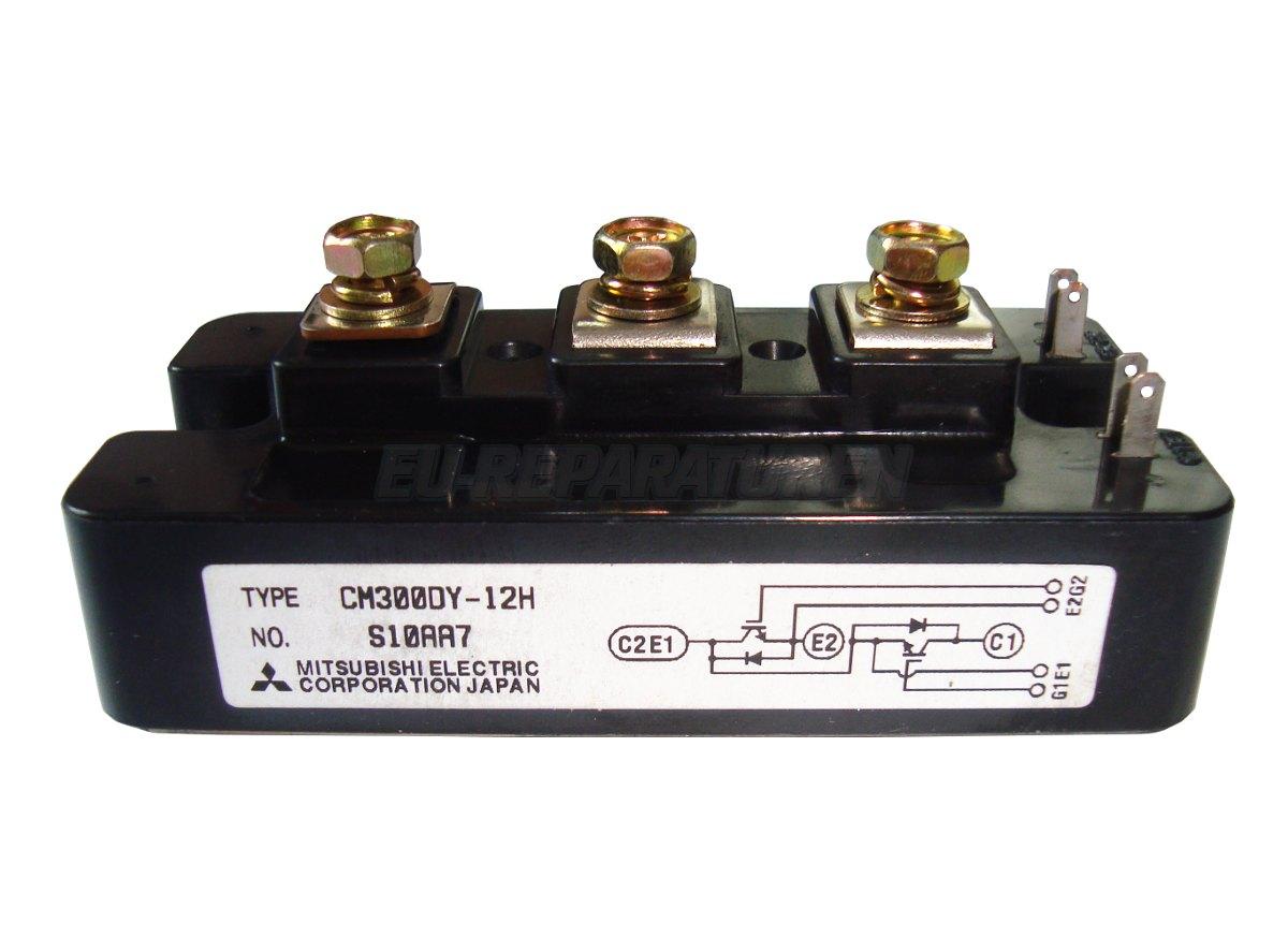 Weiter zum Artikel: MITSUBISHI ELECTRIC CM300DY-12H IGBT MODULE