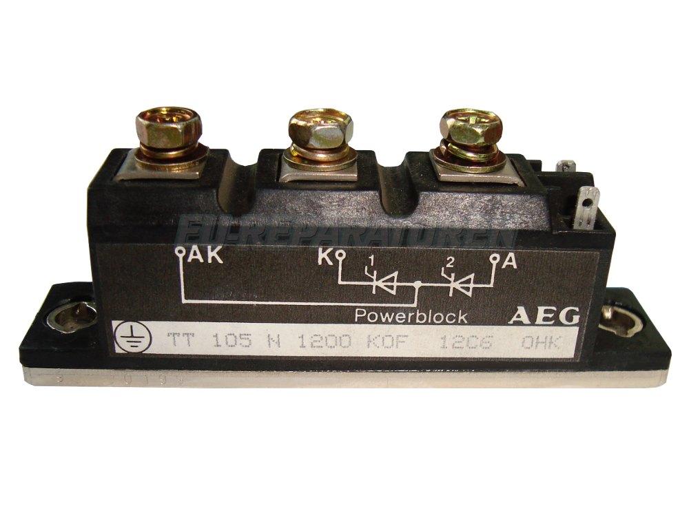 SHOP, Kaufen: AEG TT105N1200KOF THYRISTOR MODULE