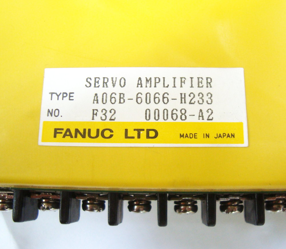 SHOP, Kaufen: FANUC A06B-6066-H233 FREQUENZUMFORMER