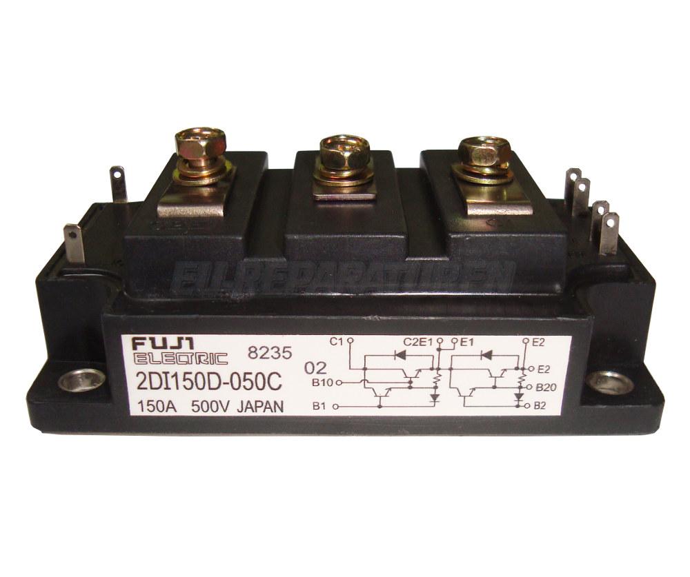 Weiter zum Artikel: FUJI ELECTRIC 2DI150D-050C TRANSISTOR MODULE