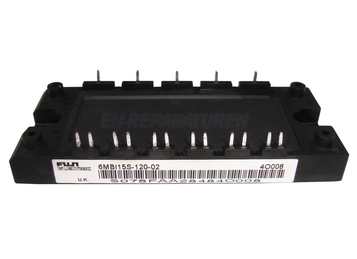 Weiter zum Artikel: FUJI ELECTRIC 6MBI15S-120-02 IGBT MODULE