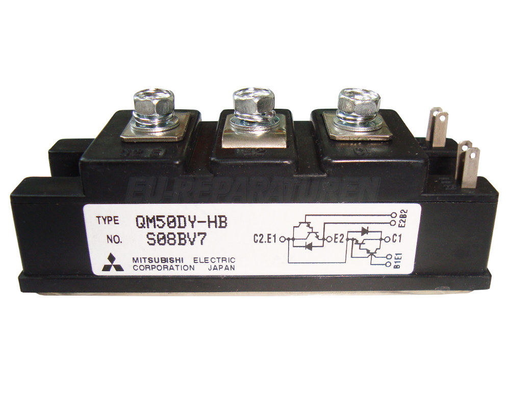 Weiter zum Artikel: MITSUBISHI ELECTRIC QM50DY-HB TRANSISTOR MODULE