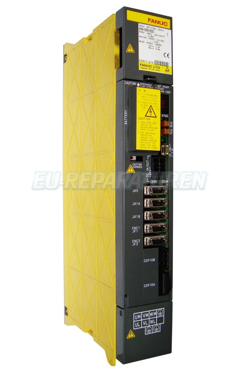 Reparatur Fanuc A06B-6096-H202 AC DRIVE