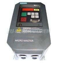 MICROMASTER 6SE3112-1BA40 SIEMENS