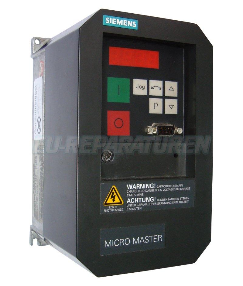 Reparatur Siemens 6SE3113-6CA40 AC DRIVE
