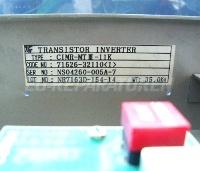 TYPENSCHILD TRANSISTOR INVERTER CIMR-MT3-11K