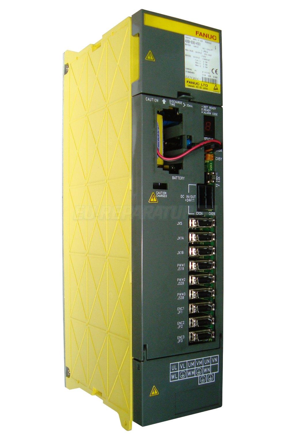 Reparatur Fanuc A06B-6080-H301 AC DRIVE
